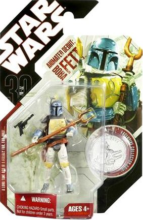 Animated Boba Fett figure