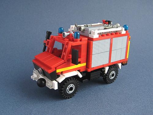 LEGO fire Unimog