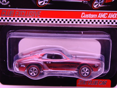 hot wheels rlc custom amc amx