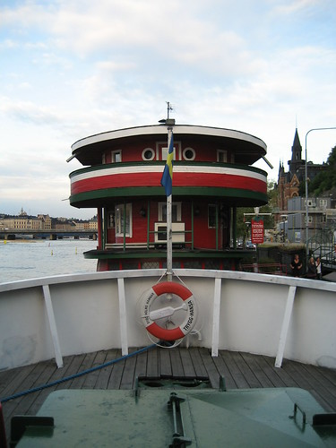 Dónde dormir y alojamiento en Estocolmo (Suecia) - The Red Boat Malaren.