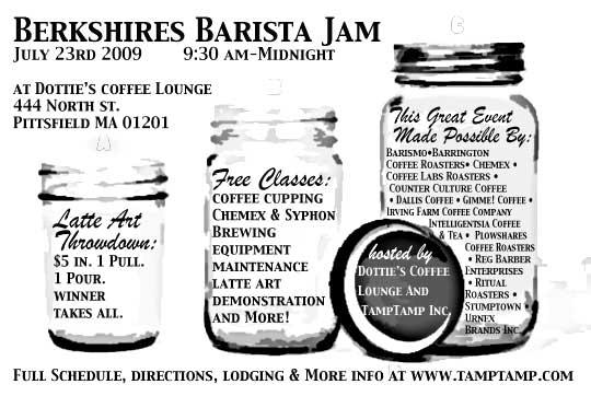 Berkshires Barista Jam!