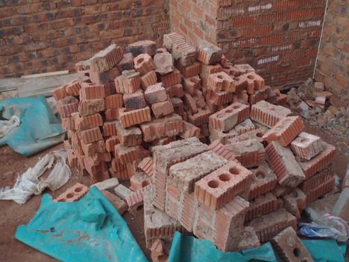 Brick and rubble