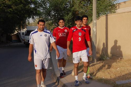 iraqi footballers