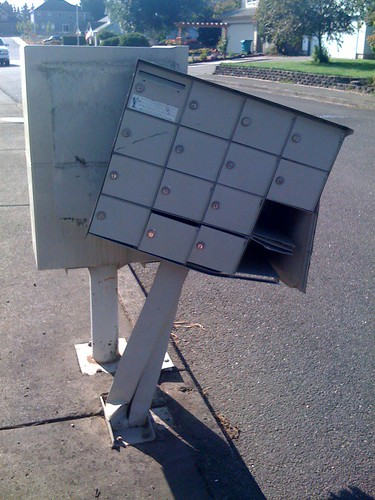 Poor Mailbox Kiosk