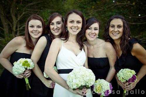 Lindsey and Bridesmaids