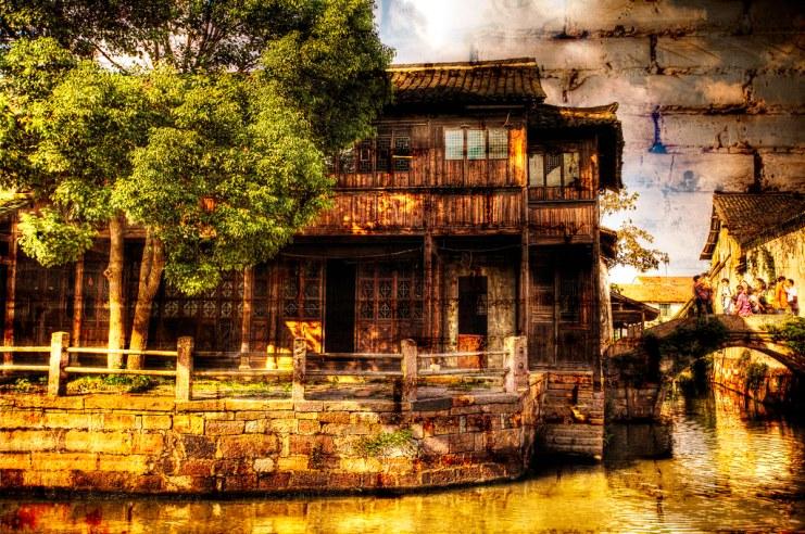 Wuzhen: Brick and Wood.