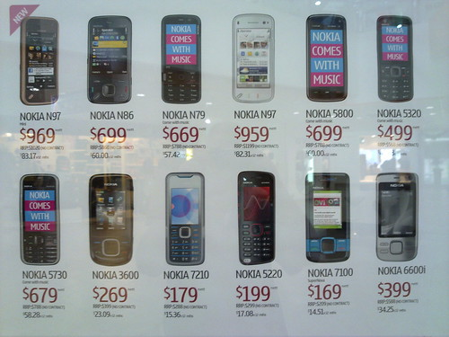 Singapore's Very Expensive Nokias