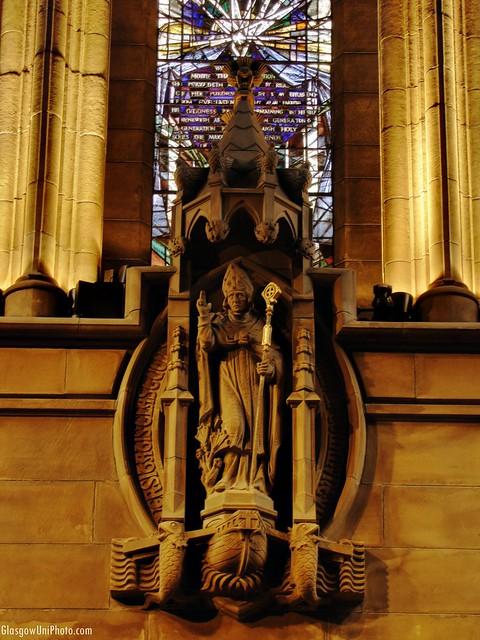 St Kentigern in the Chapel