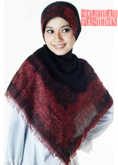 Khadijah Maroon Hijab