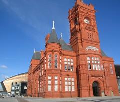 Pierhead Building, Cardiff Bay, Cardiff Wales