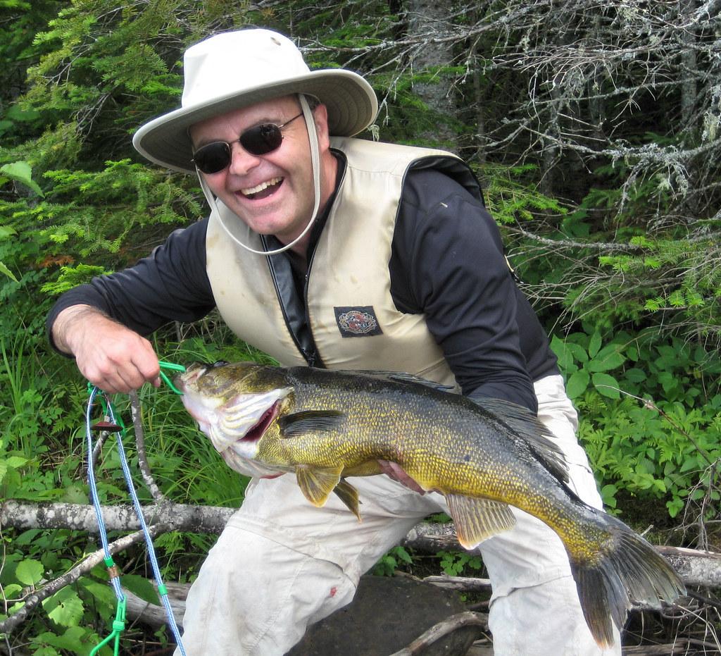 Big walleye, caught by Harley Handegard