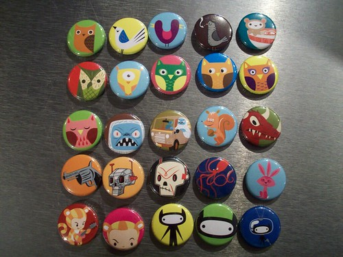 Macarons / Badges - Gama-Go