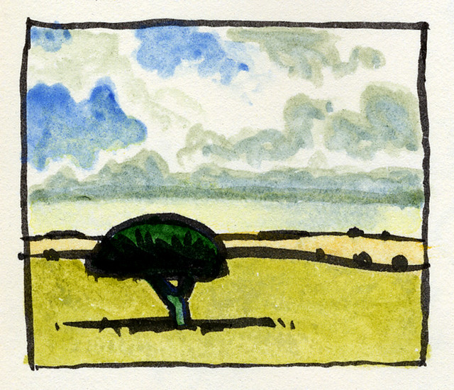 Salisbury Plain (from memory)