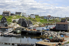 Fishing Village at Peggy's Cove, Nova Scotia