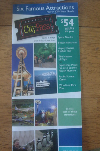 Seattle City Pass 1