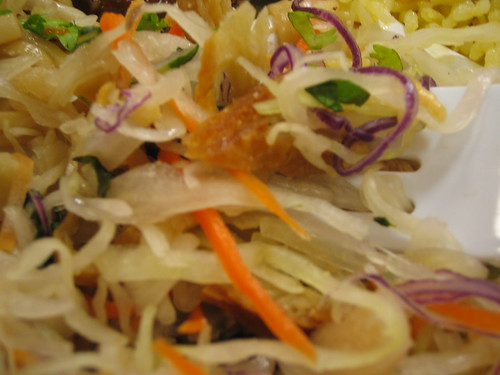Heavenly Salad (I think) at Loving Hut