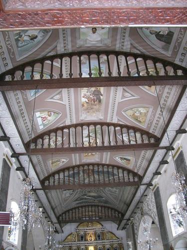 Ceiling in Sto. Nino