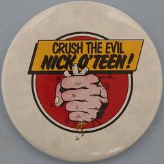 CRUSH THE EVIL NICK O'TEEN