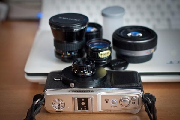 Pentax 110 lenses