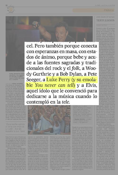 Jesús Ruiz Mantilla Chuck Berry El País