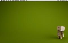 Minimalist Mac OS X Desktop