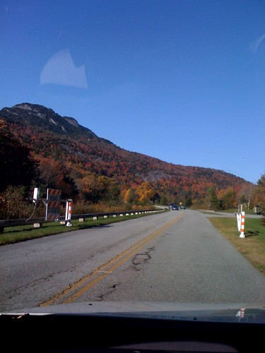 Went to return a movie, got adventurous, took a different road & somehow got lost on the Blue Ridge Parkway heading!