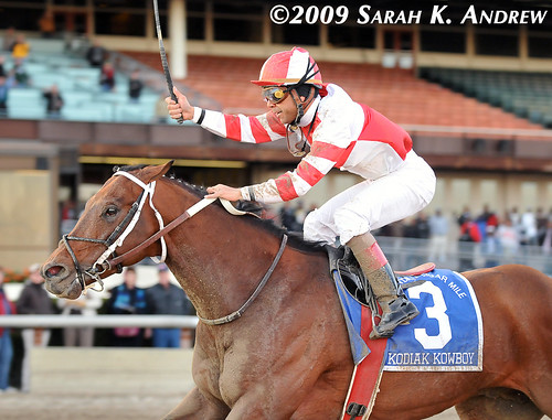 Kodiak Kowboy and Shaun Bridgmohan win the Grade 1 Cigar Mile