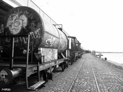 Old Trains in Antwerpeen