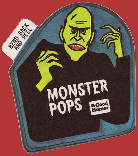 Good Humor Monster Pops