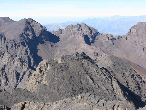 Jebel Toubkal view