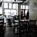 W Burger Bar - the dining room