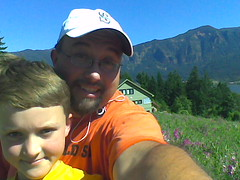 The Boy and I in the Gorge