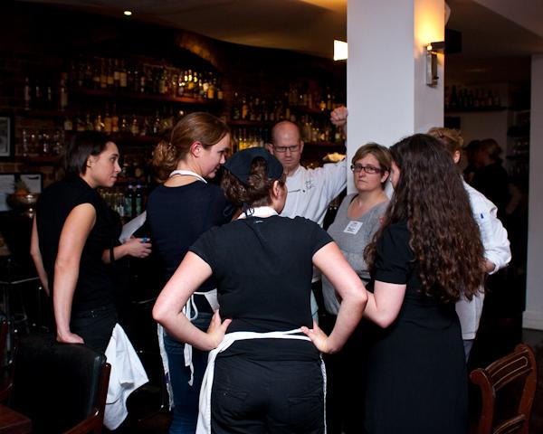 Blaggers Banquet Preparation96