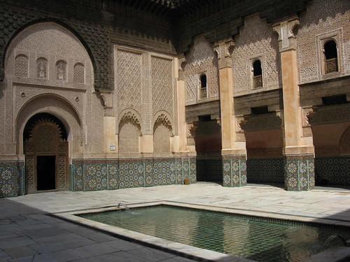 Marrakech - Medersa Ben Youseff