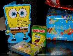 CSP's presents were Spongebob themed this year