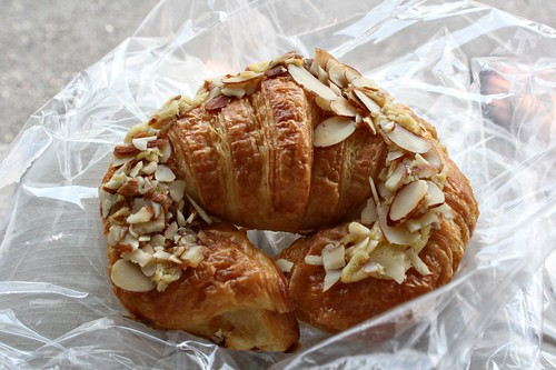 Heather recommended the almond croissant to me.  It was heaven.  I dont know how I shall ever repay her.
