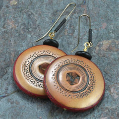 AUTUMN CIRCLES Earrings
