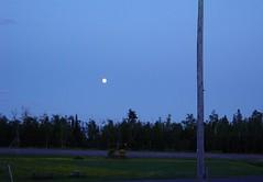 Silver Bay - Moon on Lake Superior