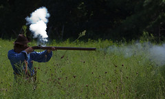 Firing the musket