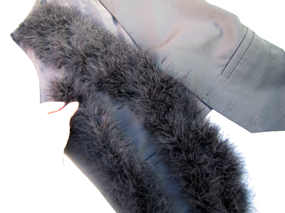 marabou-feather-vest-DIY-5