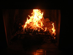 Burning papers at the end of the semester