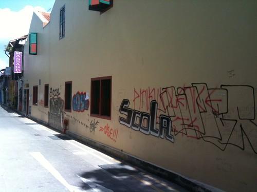 Graffiti in Singapore