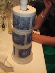 Margaret Thatcher toilet paper
