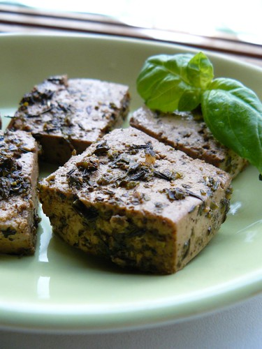 Lemon Herb Tofu