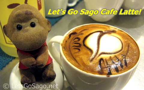 Lets Go Sago Cafe Latte created at Le Bistro