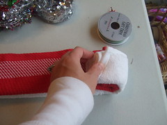 christmas wrapping tutorial 059