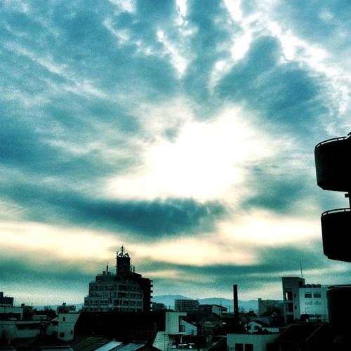 こわい空。 #sky