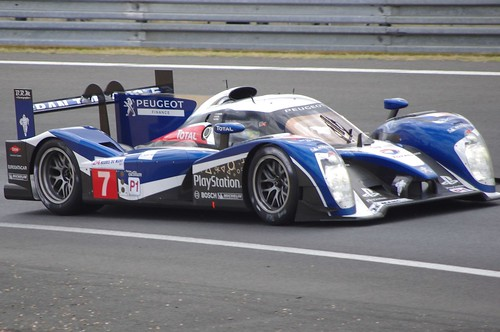 Peugeot Sport Total's Peugeot 908 Driven by Anthony Davidson, Marc Gene and Alexander Wurz
