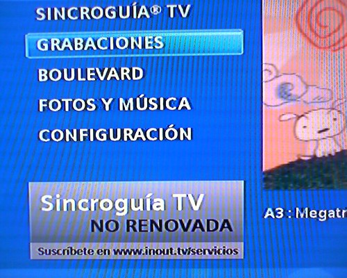 Sincroguía InOut TV