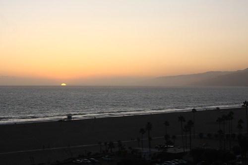 sun is setting